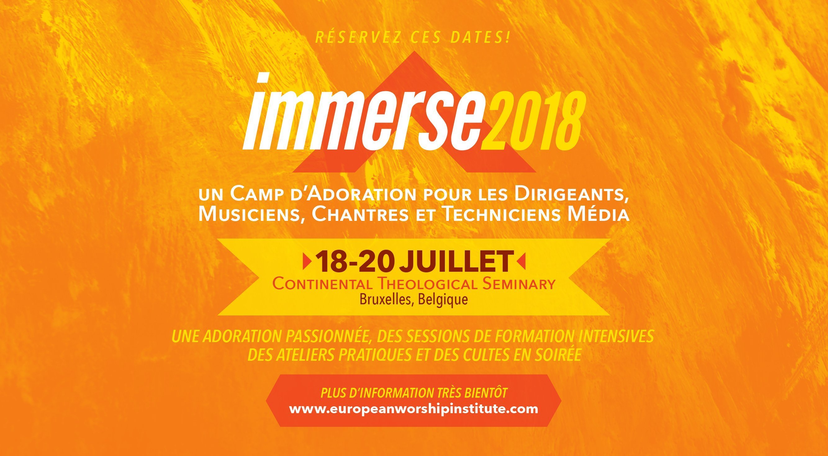 Immerse Bruxelles 2018